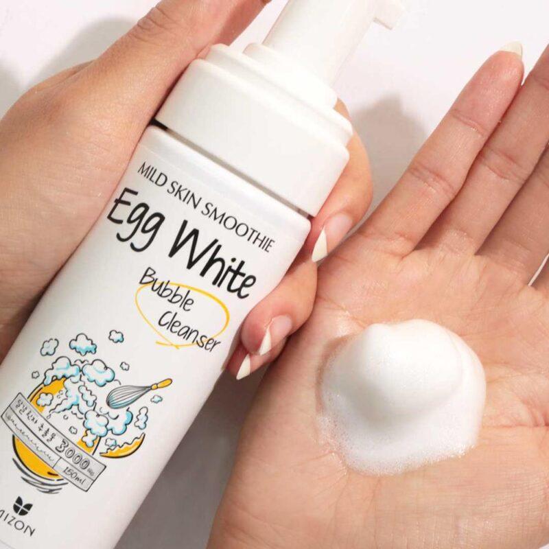 Mizon Egg White Bubble Cleanser 150 Ml Cleansing Foam Mixed